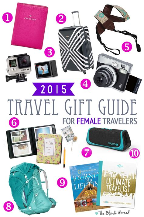 2015 travel gift guide for female travelers the blonde