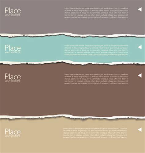 paper design elements 25 vector torn paper free vector download 4 552 free vector for