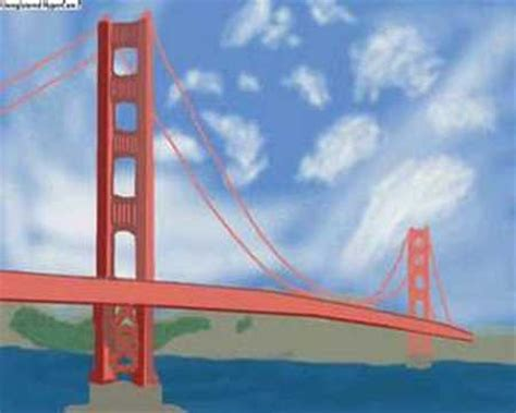speed painting golden gate bridge