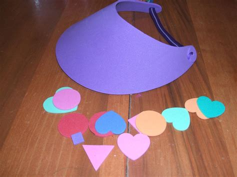 foam craft projects foam visors for crafts