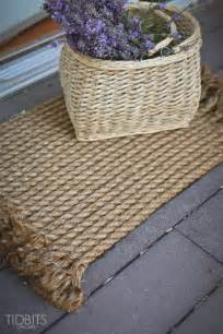 diy rope rug from rope to rug a diy tutorial tidbits