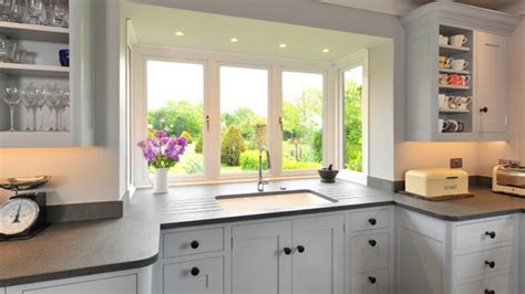kitchen bay window ideas 20 charming kitchen spaces with bay windows home design