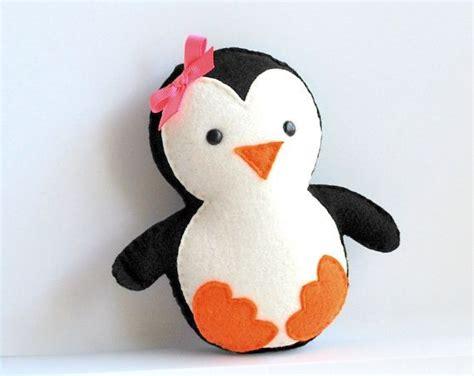 pattern felt penguin penguin pattern baby penguin sewing pattern pdf pattern