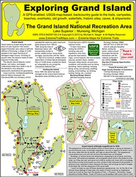 map of grand island exploring grand island