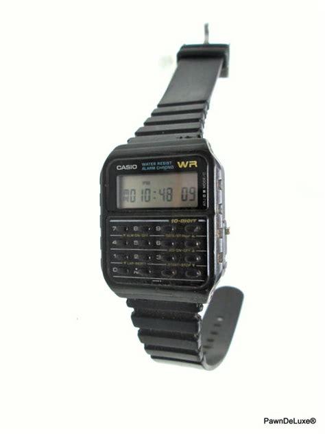 casio wr casio wr alarm chrono vintage s wristwatch catawiki