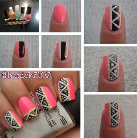 imagenes de uñas tribales azteca vanitech by nina