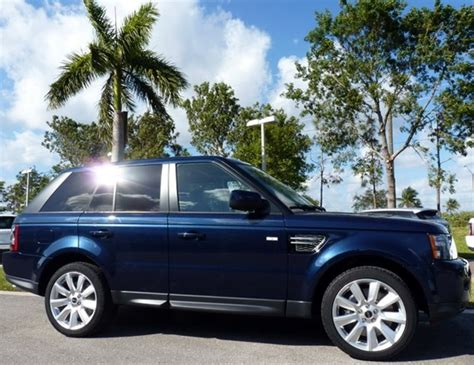 dark blue range rover 2012 range rover sport in baltic blue landrover pinterest