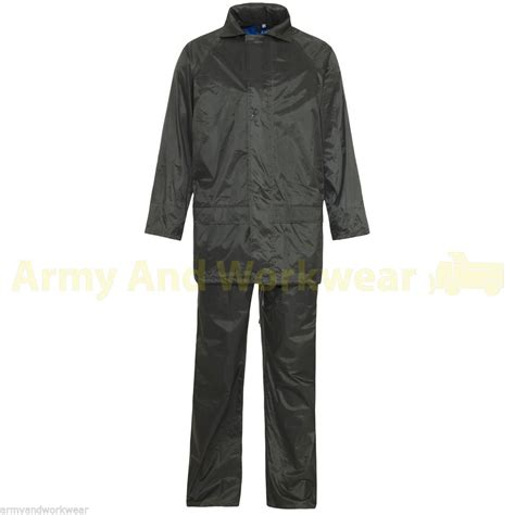 Army Set Overall By Anfashion overall mens hooded rainsuit waterproof work wear