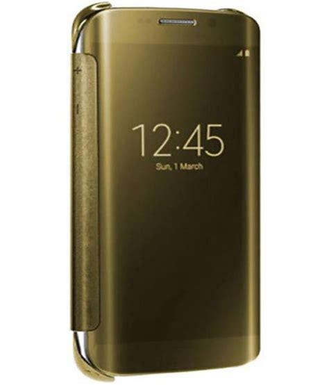 Flip Cover Samsung A8 Samsung Galaxy A8 Flip Cover By Nxg4u Golden Flip