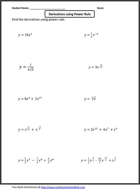 ap calculus worksheets basic calculus worksheets for higher grade students