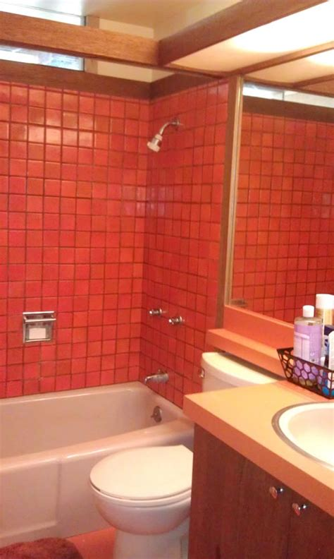 orange bathrooms terrific bathroom tile ideas from 12 reader bathrooms retro renovation