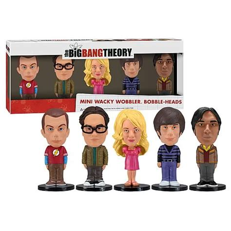 big 6 bobbleheads big theory mini bobble box set funko big