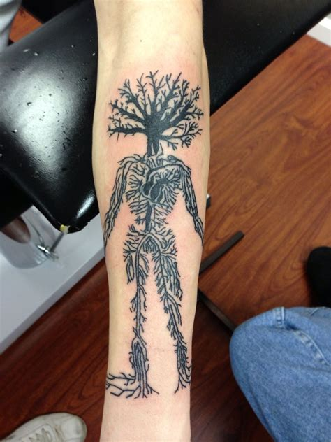 human tattoo human tree pictures