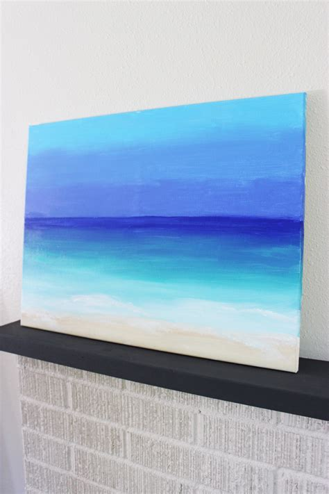 15 painting mistakes to avoid diy diy painting 15 minute ocean scene darice