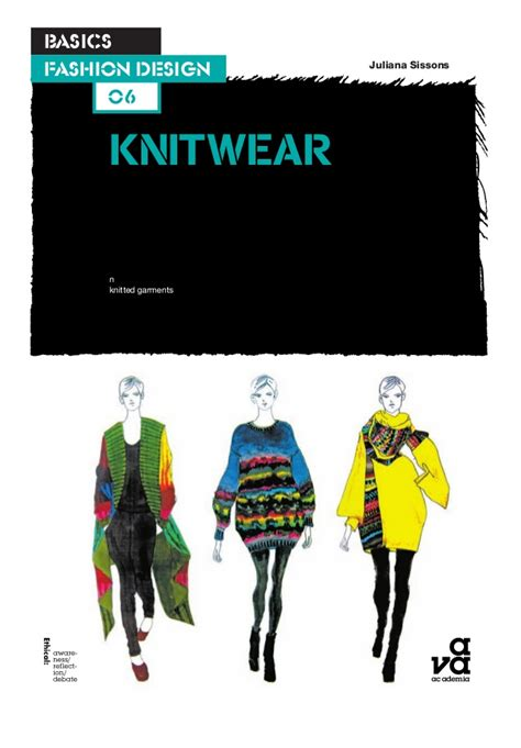 patternmaking for fashion design slideshare basics fashion design 06 knitwear