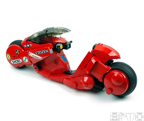 Lego Bike 1 lego kaneda s bike has brick rotor drives on