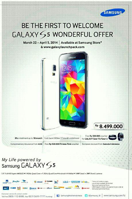 Harga Samsung S8 Di Bali tiba akhir maret galaxy s5 dijual rp 8 jutaan di