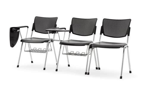 sedie per conferenze sedia per conferenze impilabile e con tavoletta scrittura
