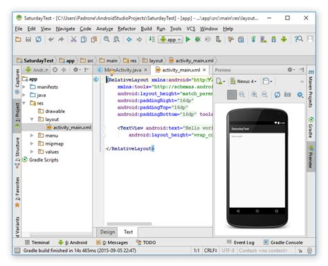 android studio layout manager mobila applikationer med android lektion 4
