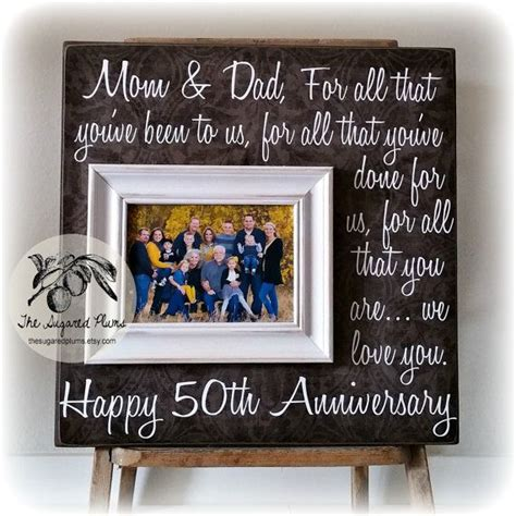 Gift Card Ideas For Parents - best 25 parents anniversary ideas on pinterest 25 wedding anniversary 50th