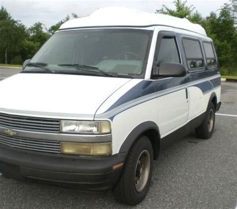 auto air conditioning repair 1995 chevrolet astro electronic throttle control buy used 1995 chevy astro van conversion cold air hi roof runs strong no rust good driver in