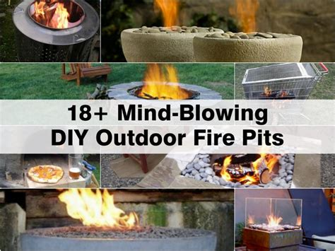 diy backyard fire pit 18 mind blowing diy outdoor fire pits
