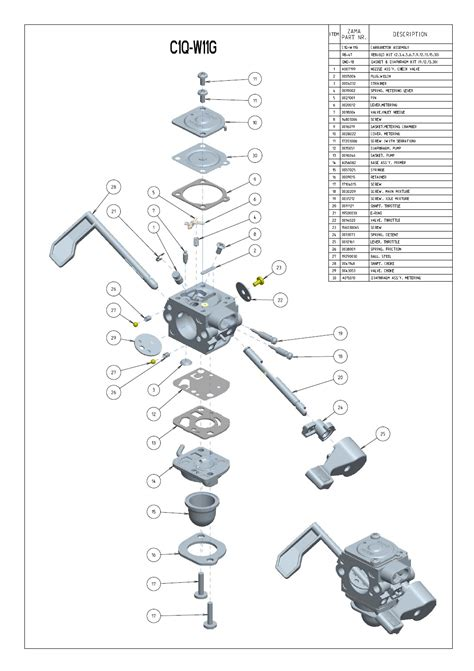 zama c1q carb diagram weedeater small engine diagram weedeater get free image