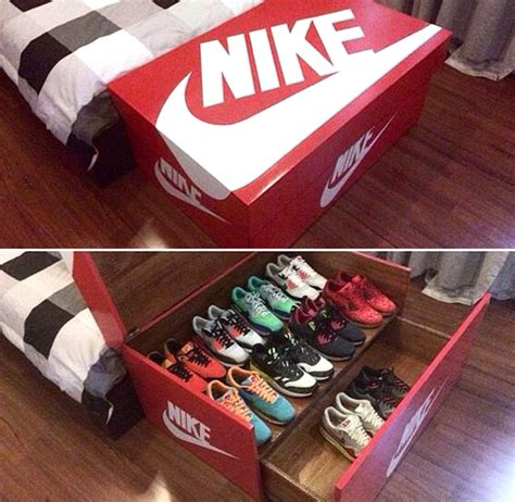 nike shoe box stoarge homemydesign
