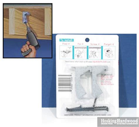 Tools & Accessories: Squeaky Floor Repair   Squeak Relief