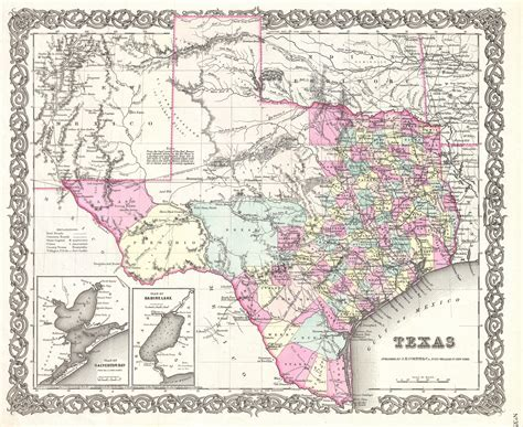 large map of texas map of texas free large images