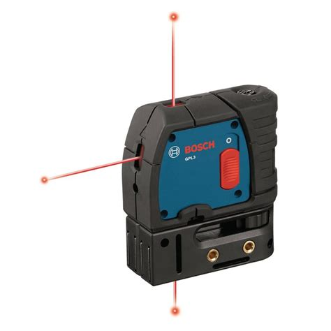 bosch 3 point self leveling laser level gpl3 the home depot
