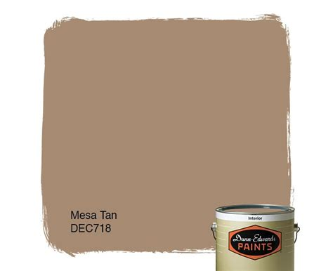 dunn edwards paints paint color mesa dec718 click for a free color sle