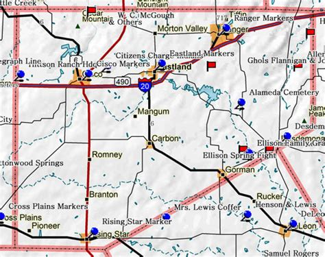eastland texas map eastland tx pictures posters news and on your pursuit hobbies interests and worries