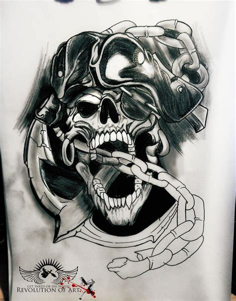 pirate skull tattoo www imgkid com the image kid has it