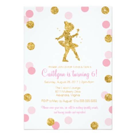 ballerina birthday card template ballerina invitations announcements zazzle