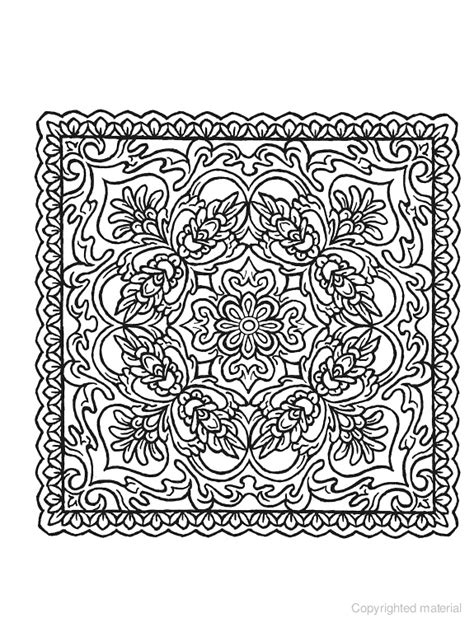 square mandala coloring pages creative square mandalas coloring book random