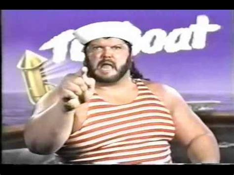 tugboat wwf wwf tugboat promo on earthquake 1990 youtube