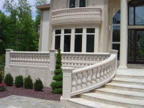 Balustrade Railing Cement Ballisters And Railing Home Balustrades Balusters