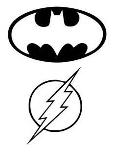 Flash Symbol Outline by Batman Birthday Ideas Batman Birthday Batman Printable Cards Invitations