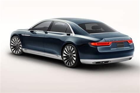 lincoln continental new lincoln continental concept look motor trend