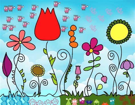 fiori bosco disegno fiori di bosco colorato da utente non registrato
