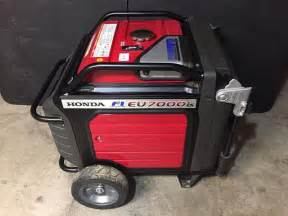 Honda Generator Eu7000is 1000 Like New 2016 Honda Eu7000is Generator 7000 Watts