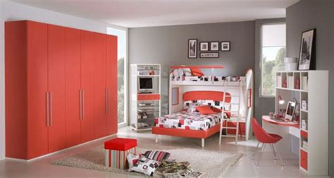 teenage bedroom color schemes red passion teen room color scheme iroonie com