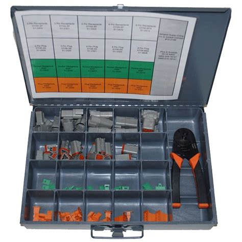 Electrical Kits 06 dt connector kit w paladin tool 277 pieces