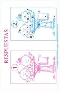 juego impreso para baby shower soluci 243 n del juego encuentra las 20 diferencias ideas baby