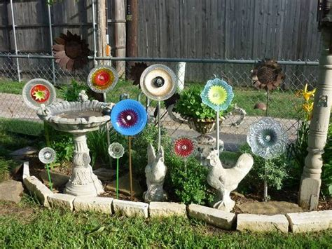 Garden Made From Dishes 10 Great Ideas To Give Your Garden A Touch Of Whimsy