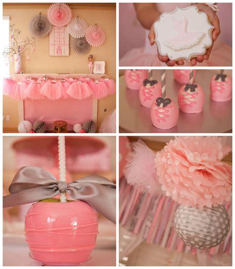 cute themes com kara s party ideas ballerina themed birthday party ideas