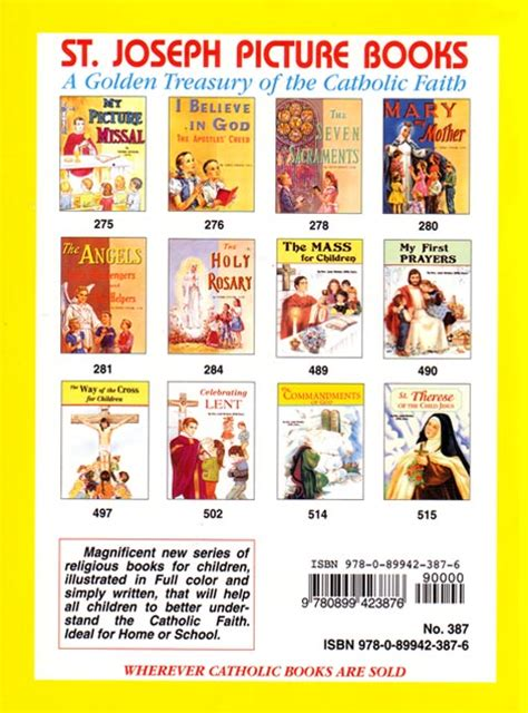 st joseph picture books preview our of fatima st joseph picture book seton