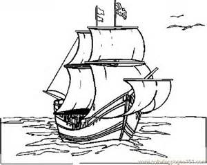 mayflower coloring page mayflower ship coloring page az coloring pages
