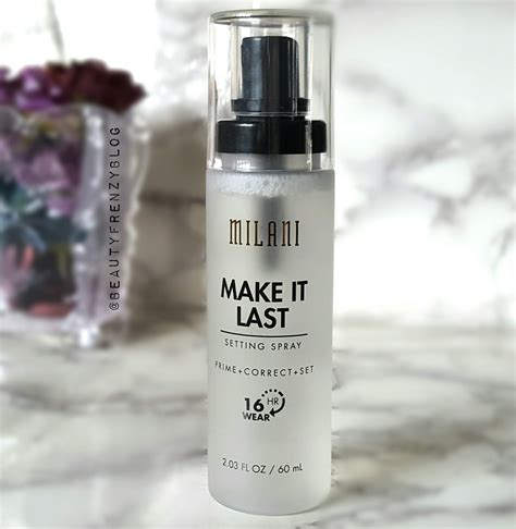 Make It Last milani make it last setting spray review frenzy